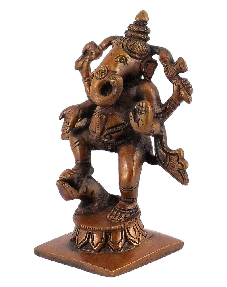 Antiquated Standing Baby Ganesh