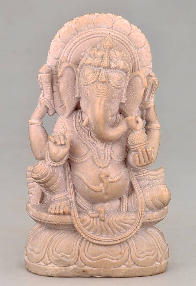 Blessings of Ganesha - Stone Statue
