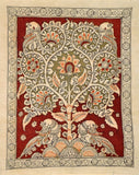 Evergreen Tree Kalamkari Painting
