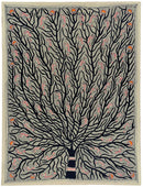 Tree of Joy - Beautiful Madhubani Painting