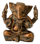 Brass Ganpati in Antique Finish