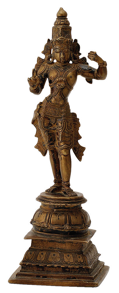 Lord Ram Statue in Antique Finish 11.50""