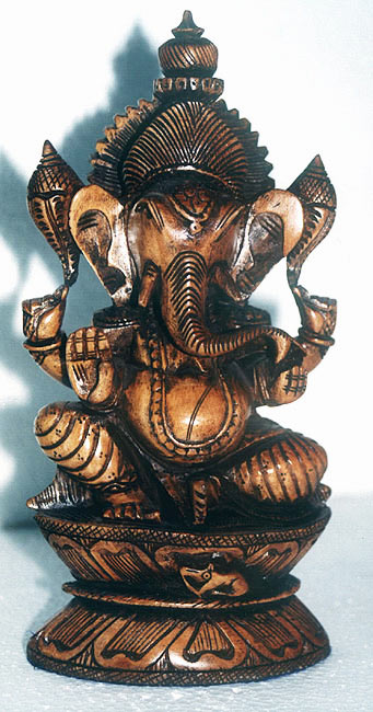 Elephant God Ganesha-Indian Deity