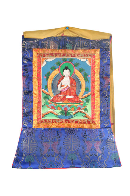 Buddha Painting-Antique Finish 22""