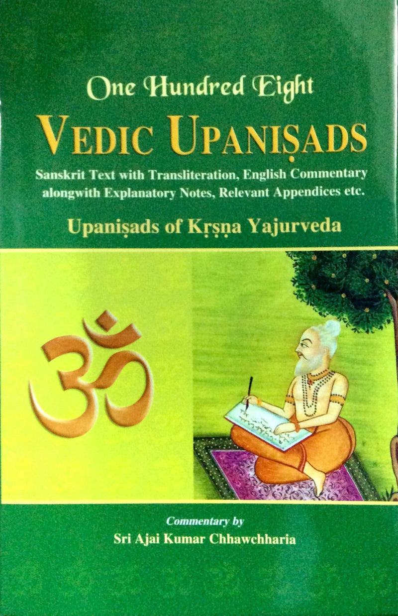 One Hundred Eight Vedic Upanishads (4 Vol. in 6 Parts)