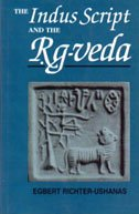 The Indus script and the Rig-Veda [Hardcover] Egbert Richter-Ushanas