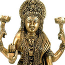 """Devi Luxmi"" Goddess of Prosperity - Brass Sculpture"