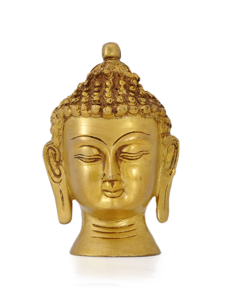 Oriental Asian Buddha Head