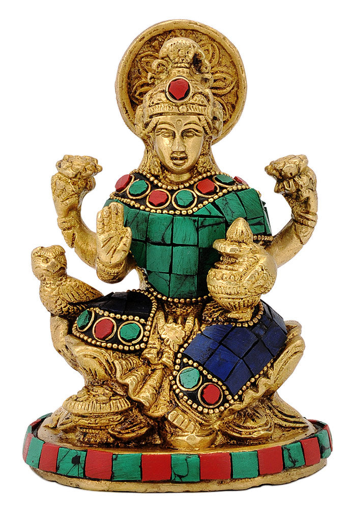 Goddess Lakshmi with Pot of Wealth