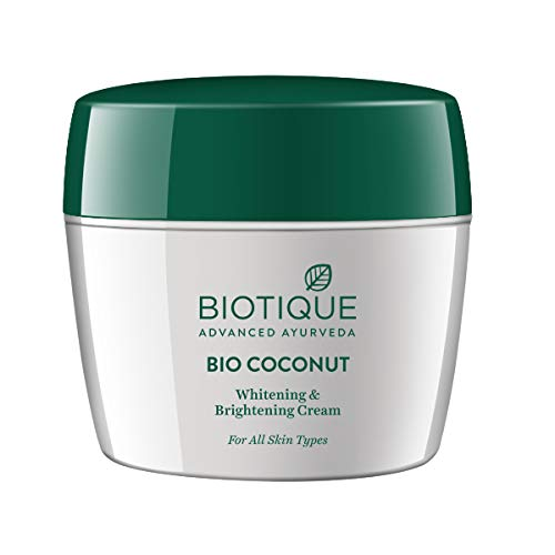 Biotique Bio Coconut Whitening and Brightning Cream, 175gm