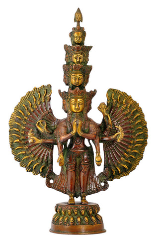 Thousand Armed Lord Avalokiteshvara 14""