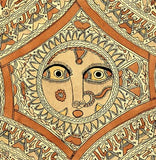 Careful Eyes of Devi - Madhubani Tattoo Painting