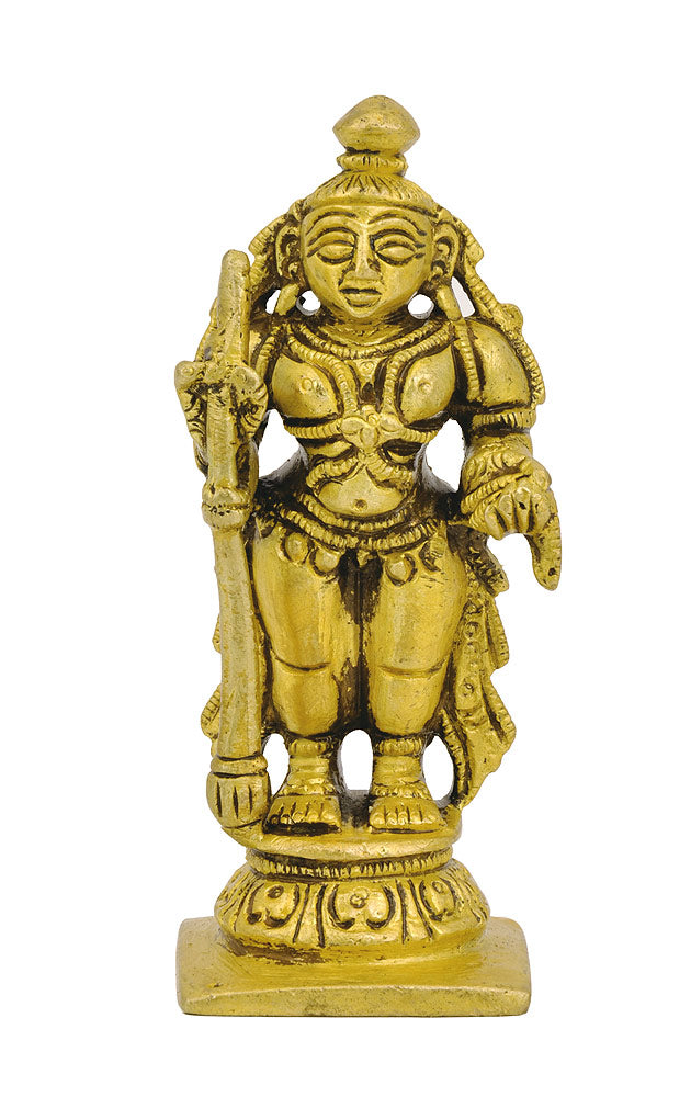 Cowherd Krishna - Small Statue 3""