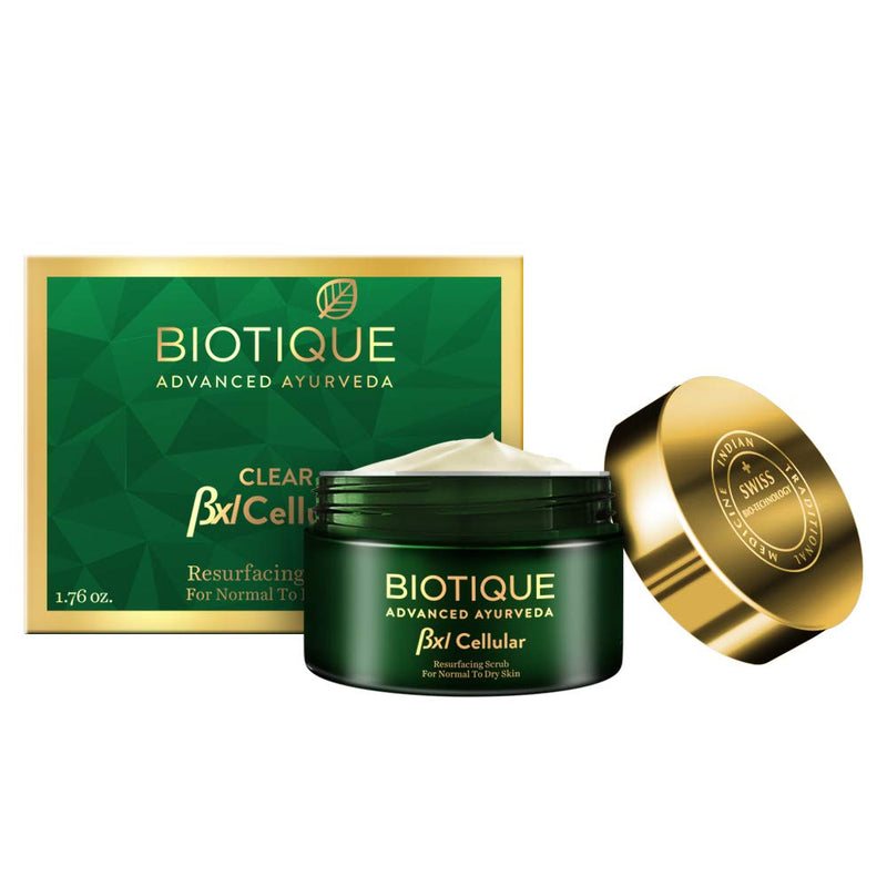 Biotique Bxl Cellular Walnut Resurfacing Scrub 50g
