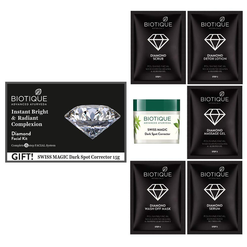 Biotique Bio Diamond Facial Kit, 65g
