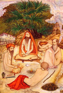 Group of Sadhus (Holymen) - Watercolor Painting