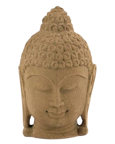 Hand Crafted Fine Buddha Head - Decorative Stone Carving