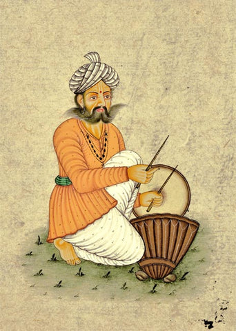 Nagada Drum Player - Miniature Painting