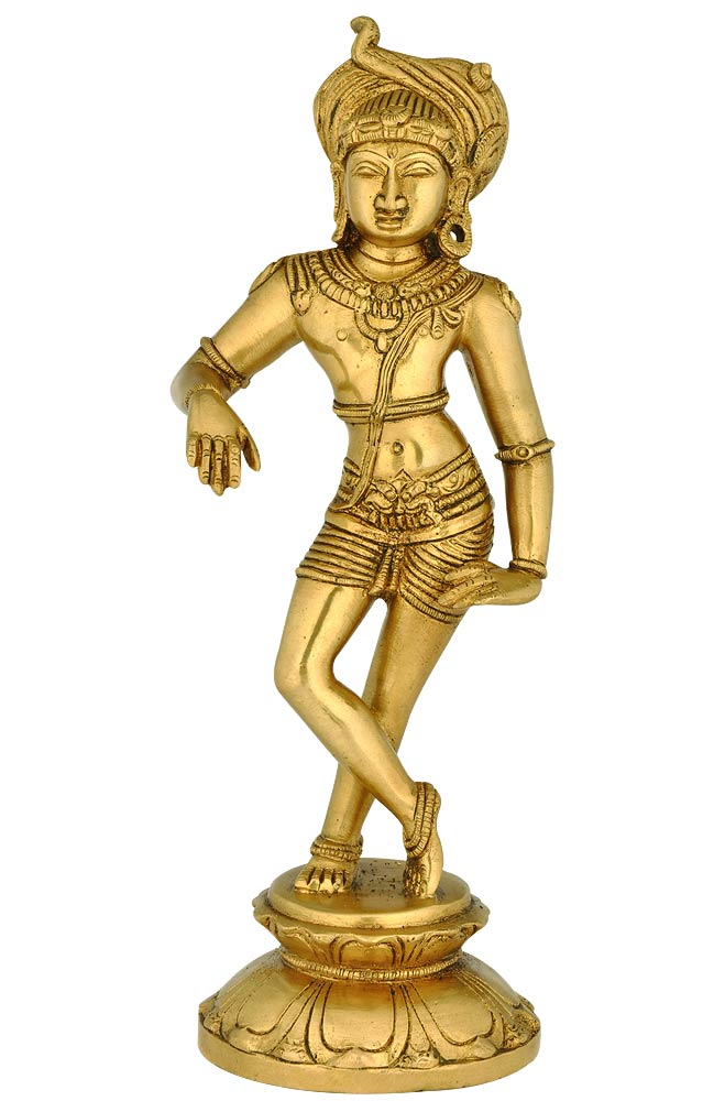 Lord Shiva as Vrishavahana - Brass Statue