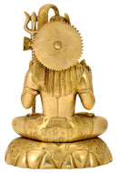 Seated Lord Shiva Holding Trident