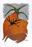 Gond Painting 'Deer'