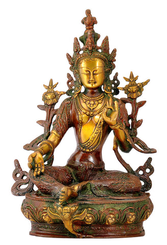 Saviour Goddess Green Tara 12.50""