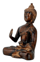 Lord Medicine Buddha in Brown Finish