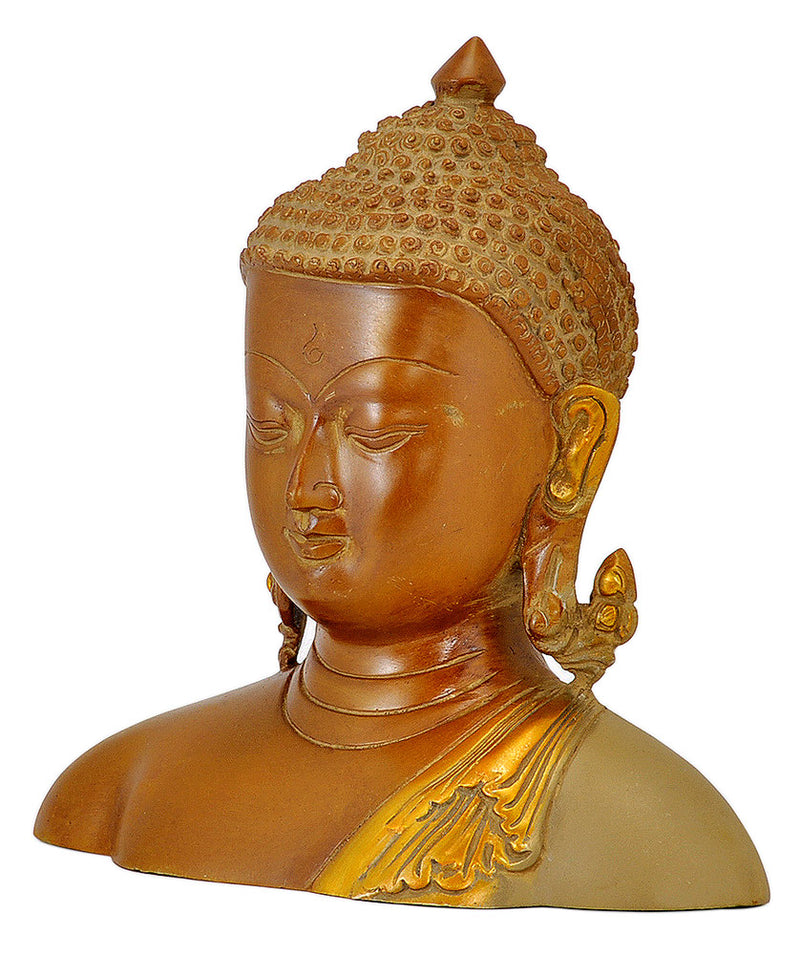 Antiquated Buddha Head