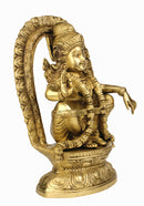 God Ayyappa Brass Figure