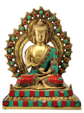 Altar Buddha with Aureole