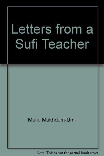 Letters from a Sufi Teacher [Paperback] Singh, Baijnath