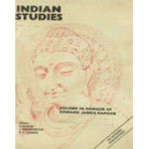 Indian Studies ; Volume in Honour of Edward James Rapson [Hardcover] Ed. J. Block, J Charpenter and R.L. Turner