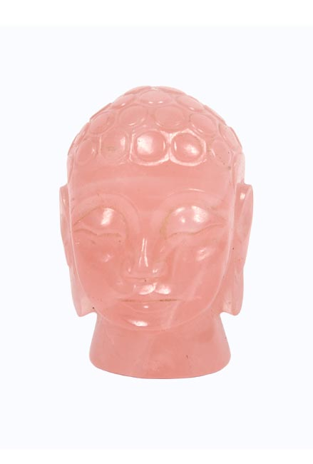 Transcedental Buddha-Rose Quartz