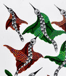 Group of Birds - Gond Folkart Panting