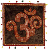 Aum Sweet Aum (V) - Patchwork Wall Hanging