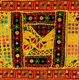 Colors of India - Embroidered Tapestry