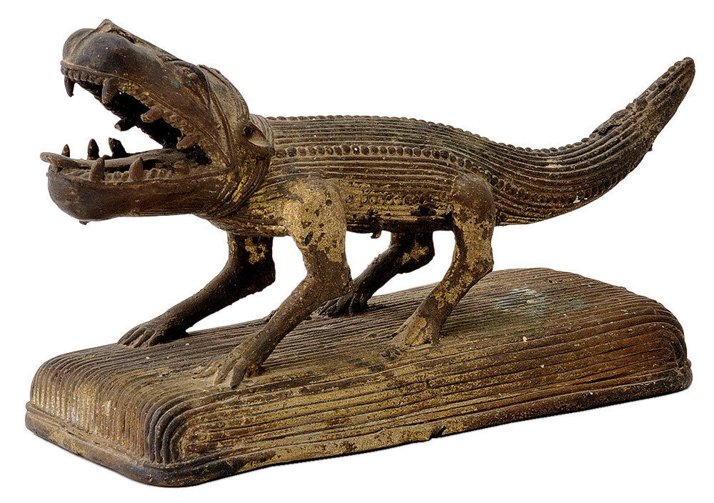Crocodile Sculpture - Tribal Dhokra Art