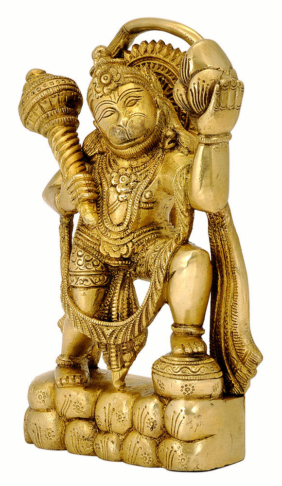 Anjaneya Hanuman Carrying Dronagiri Mountain