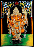 Benevolent God Ganesha - Batik Painting