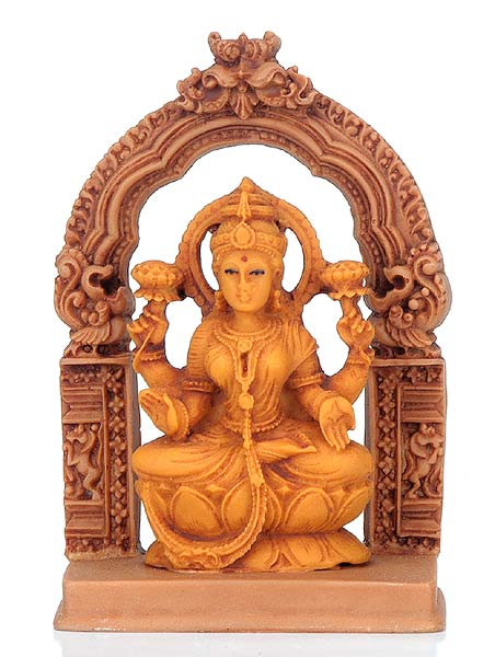 Goddess Lakshmi - Resin Sculpture
