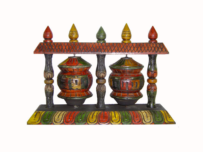 Double Prayer Wheels Mandala