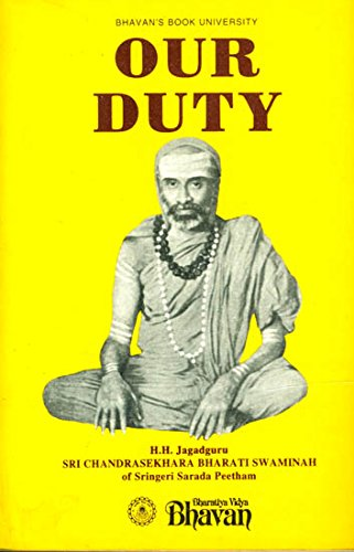 Our Duty by Sri Chandrasekhara Bharati Swaminah
