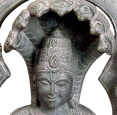 The Guru of Yoga - Stone Statue