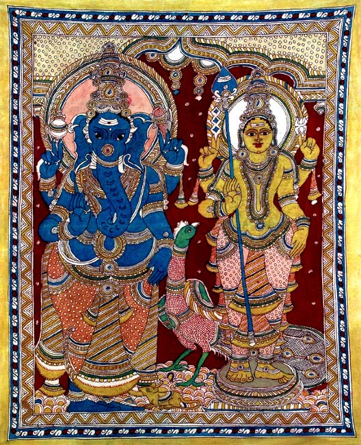 Ganesha and Murugan - The Two Sons of Lord Shiva