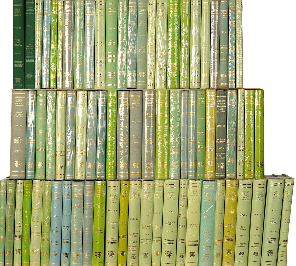 Puranas Translated Into English (Set of 79 Volumes)