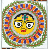 God of Light 'Sun' - Madhubani Painting