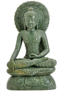 Earth Witness Buddha - Stone Carving