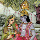 Radha's Love For krishna - set of 2 Paintings
