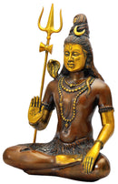 Trance Mood Shiva Blessing Statue 19.25""