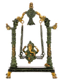 Lord Ganesh on a Swing